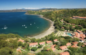 Aerial view of Secrets Papagayo Resort and Spa @fitbodiesinc