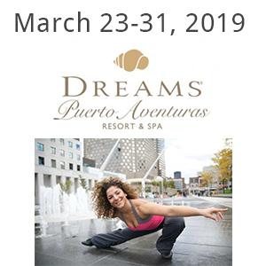 Suaad Ghadban fitness retreat at Dreams Puerto Aventuras 2019