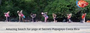 Heidi Audet yoga and ayurveda retreat at Secrets Papagayo Costa Rica @fitbodiesinc